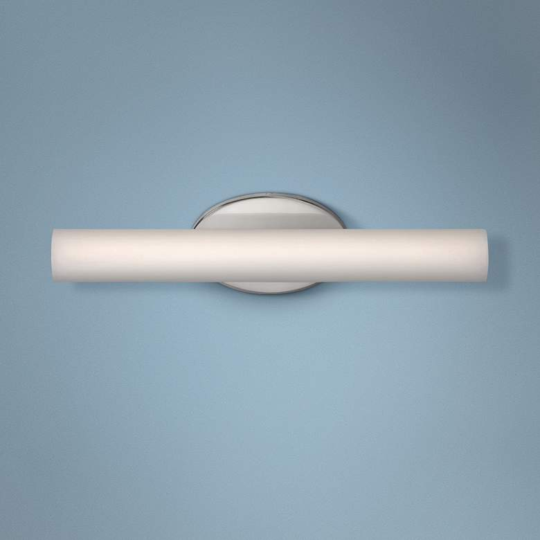 "Modern Forms Loft 18"" Wide Brushed Nickel LED Bath Light"