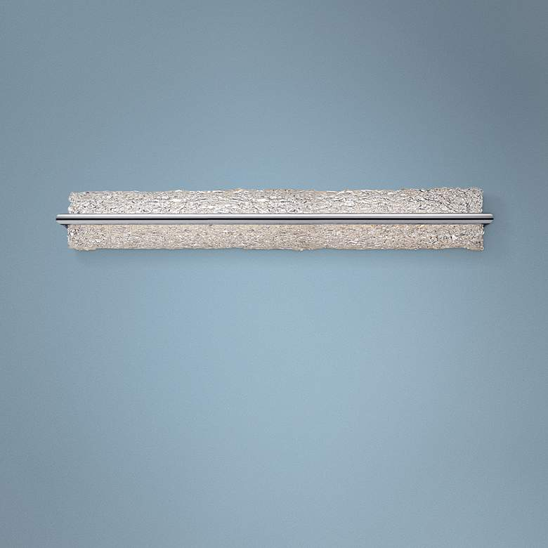 "Modern Forms Vetri 39"" Wide Brushed Aluminum LED"