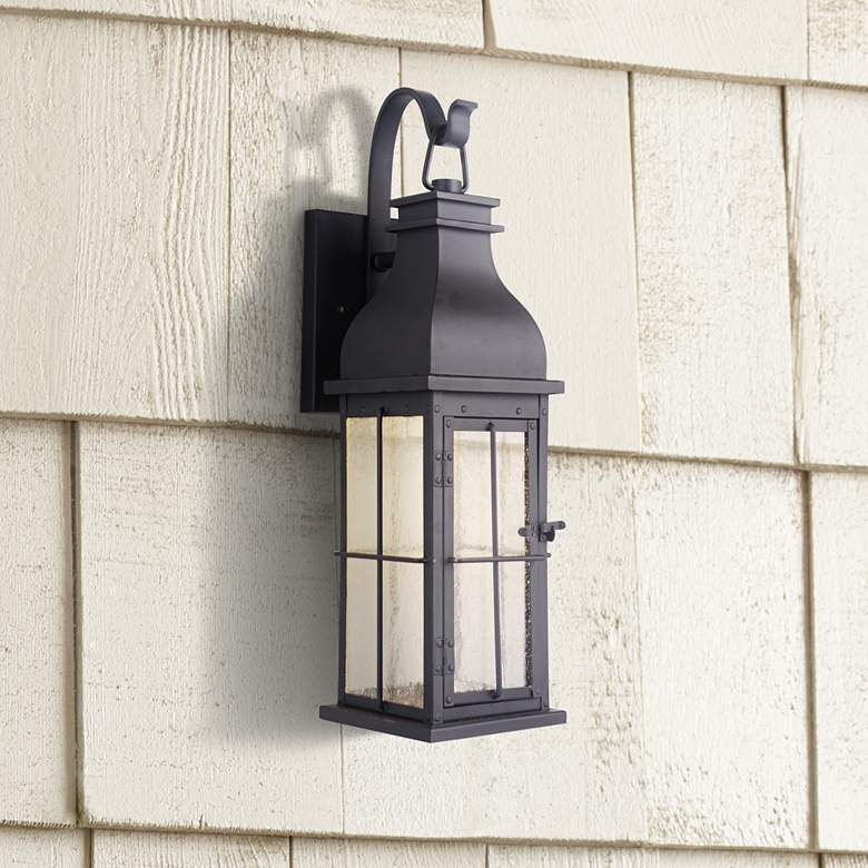 "Craftmade Vincent 24"" High Midnight LED Outdoor Wall"