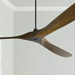 "99"" Monte Carlo Maverick Grand Matte Black Ceiling Fan"