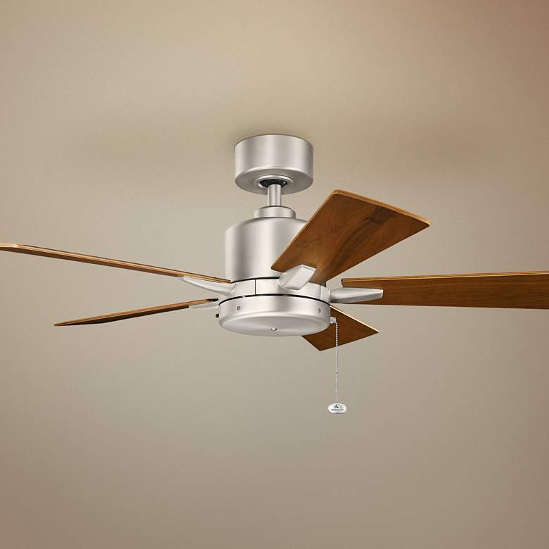 "42"" Kichler Bowen Brushed Nickel Ceiling Fan"