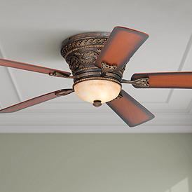 Hugger Flush Mount Ceiling Fans