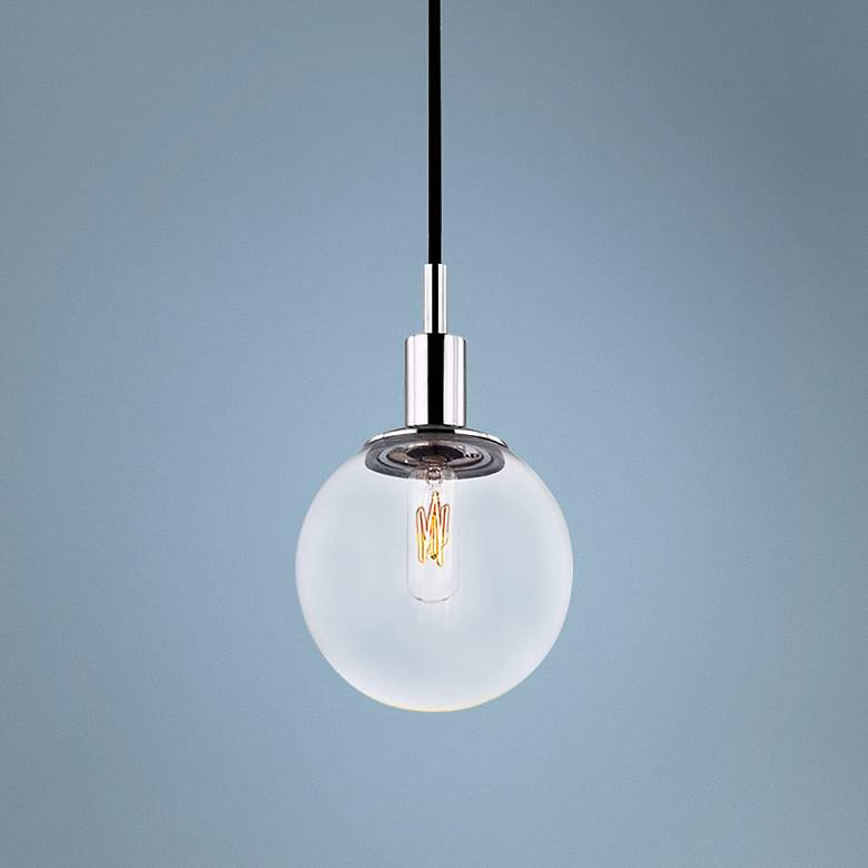 "Sonneman Orb 5 1/2"" Wide Polished Chrome Mini Pendant"