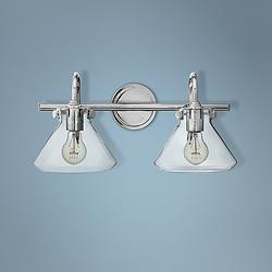 "Hinkley Congress 19 1/4"" Wide Chrome 2-Light Bath Light"