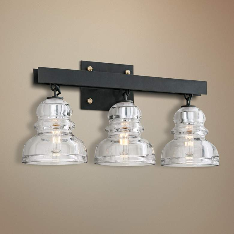 "Menlo Park 20 1/2"" Wide Deep Bronze Bath Light"