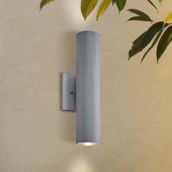 "Minka Skyline LED 14 1/2""H Aluminum Outdoor Wall Light"
