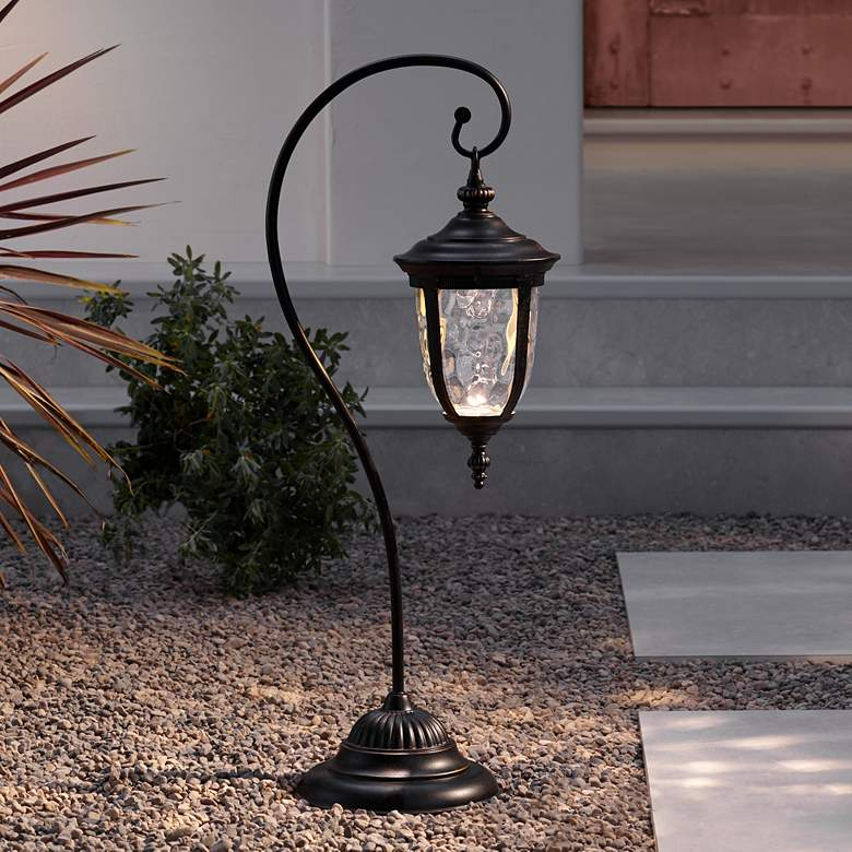 "Bellagio™ Collection 32 1/2"" High LED Landscape Path Light"