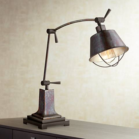 Uttermost Henry Industrial Desk Lamp