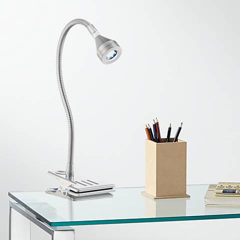Tyler Gooseneck Tapered LED Clip Light