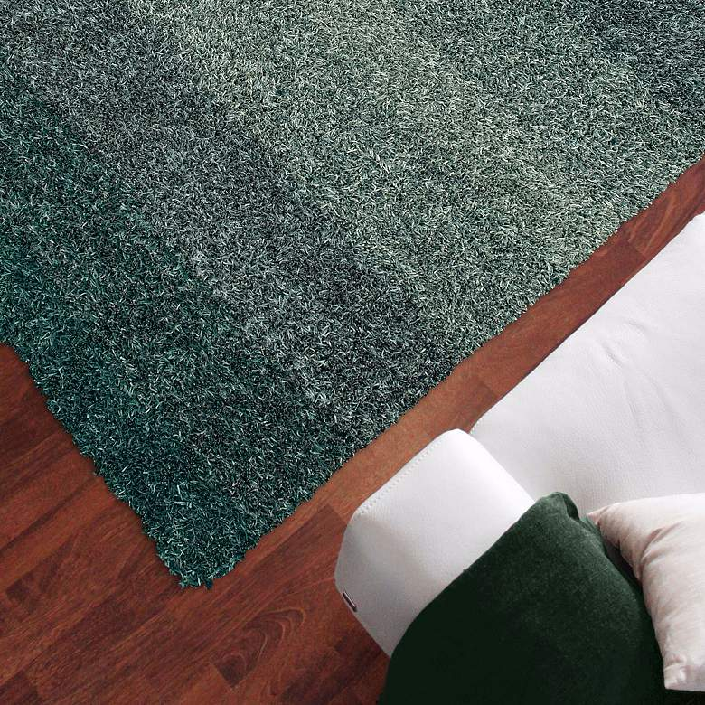 "Dalyn Spectrum SM100 5'x7'6"" Teal Shag Rug"