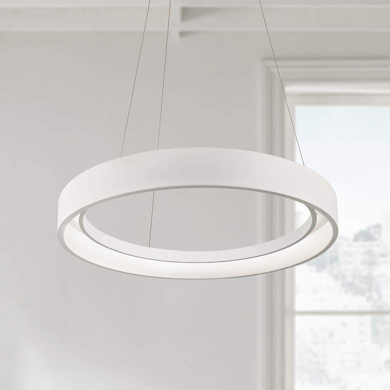 "Elan Fornello 23 1/2"" Wide Dimmable LED White"