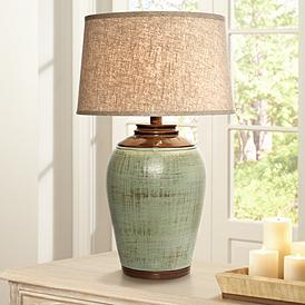 Green Table Lamp Styles Lamps Plus