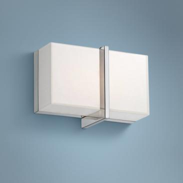 "Rise 5 1/2"" High Chrome LED Wall Sconce"