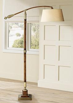 Uttermost task reading floor lamps lamps plus uttermost monroe downbridge arc floor lamp mozeypictures Gallery