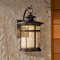 Callaway Rustic Bronze 11 1 2 High Led Outdoor Wall Light