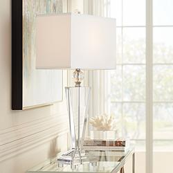 Vienna Full Spectrum Crystal Trophy Table Lamp