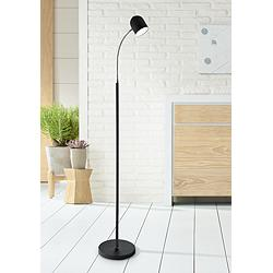 Noah Black Metal LED Floor Lamp