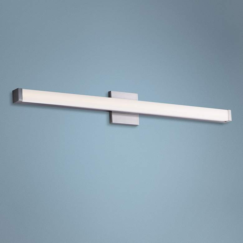 "Maxim Spec Vanity 36"" Wide Satin Nickel LED"