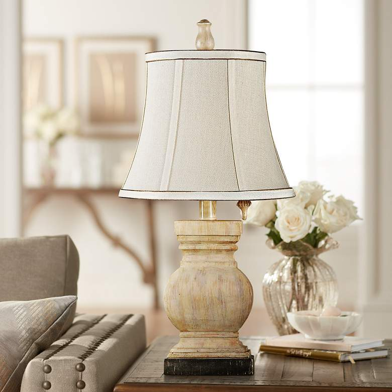 Ellis Sandstone Mini Accent Table Lamp