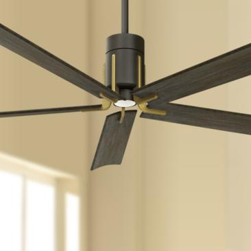 "60"" Minka Aire Clean Oil Rubbed Bronze LED Ceiling Fan"