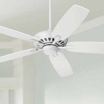 "52"" Journey White Ceiling Fan with Dimming Remote"
