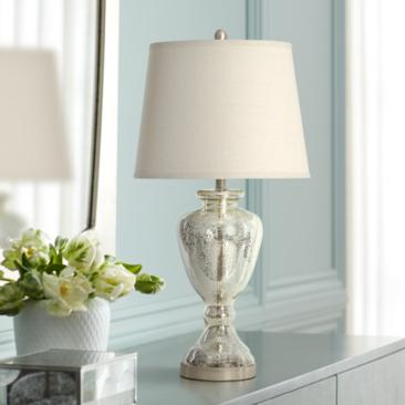 Northbay Mercury Glass Vase Table Lamp