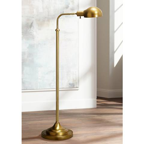 Robert abbey kinetic antique brass pharmacy floor lamp 61361 robert abbey kinetic antique brass pharmacy floor lamp 61361 lamps plus aloadofball Images