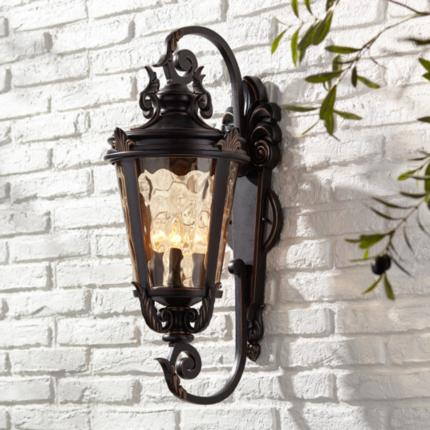 Casa Marseille Bronze Finish Outdloor Lighting Collection