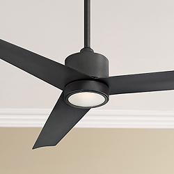 "54"" Modern Forms Lotus Bronze LED Wet Ceiling Fan"