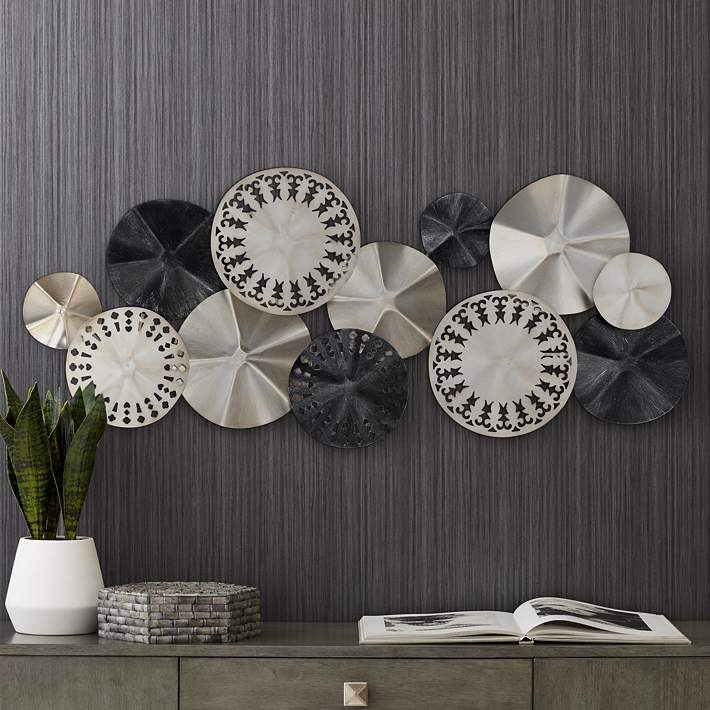Wide Metal Wall Art