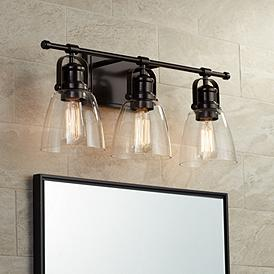 Arts And Crafts Mission Bathroom Lighting Lamps Plus