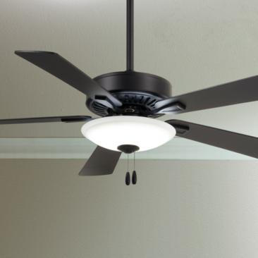 "52"" Minka Aire Contractor Uni-Pack Coal LED Ceiling Fan"