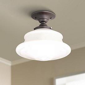 Hudson Valley, Close To Ceiling Lights | Lamps Plus