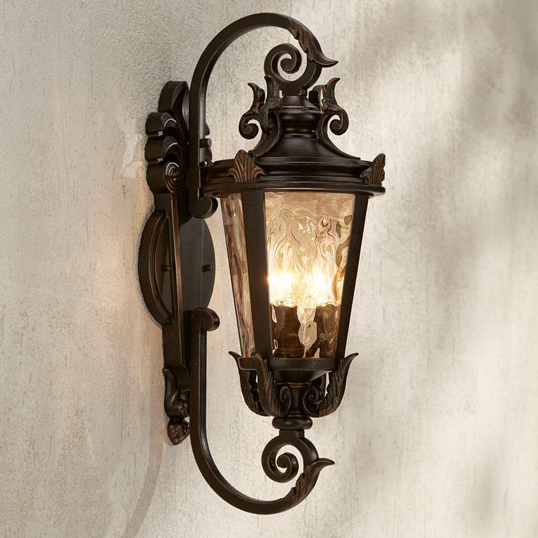 "Casa Marseille™ 21 1/2"" High Bronze Outdoor Wall Light"