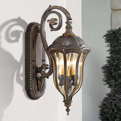 "Feiss Baton Rouge 22 3/4"" High Outdoor Wall Lantern"