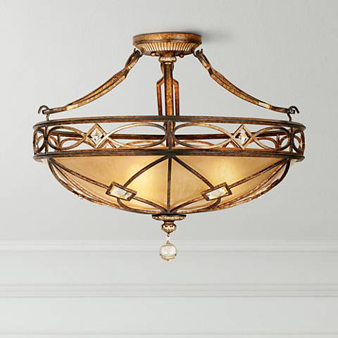 "Minka Aston Court 24"" Wide Ceiling Light Fixture"