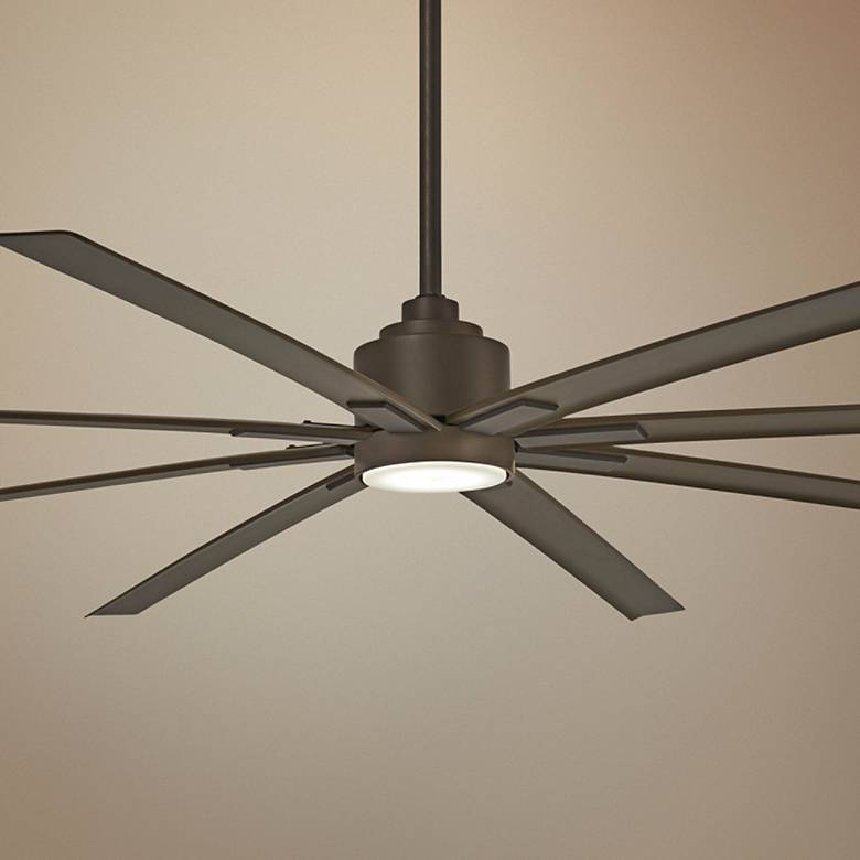 "84"" Minka Aire Xtreme H20 Bronze Wet LED Ceiling Fan"