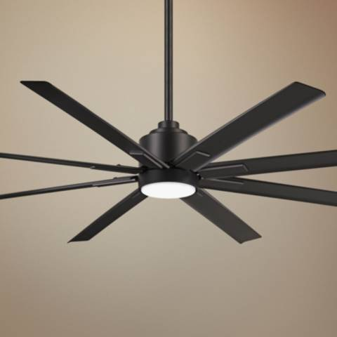 65 Quot Minka Aire Xtreme H20 Coal Wet Led Ceiling Fan