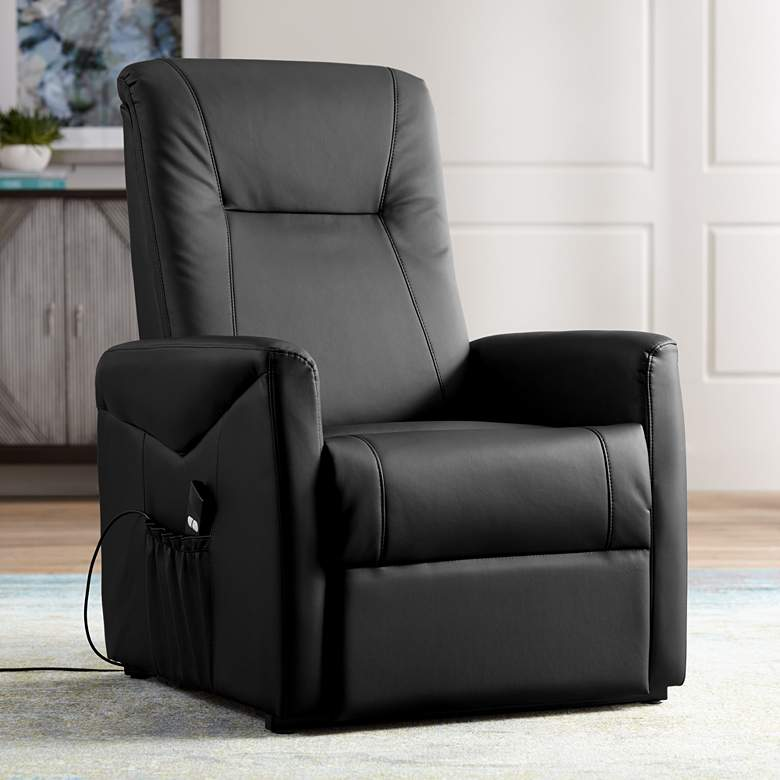 Danford Black Remote Control Recliner Lift Chair