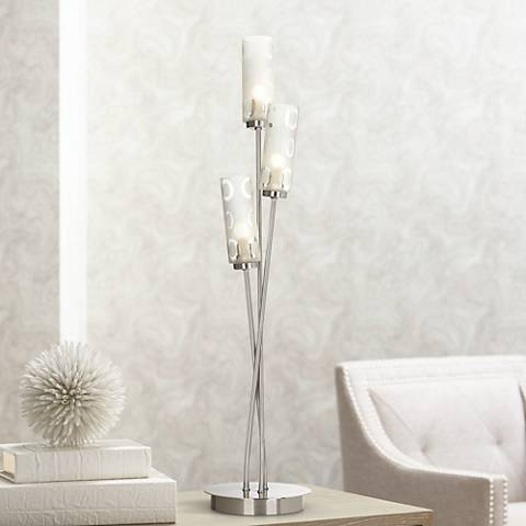 "Triple O Glass 26"" High Contemporary Accent Light"