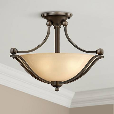 "Hinkley Bolla 19 1/4"" Wide Olde Bronze Ceiling Light"