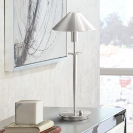 Holtkoetter Satin Nickel Lighting Collection