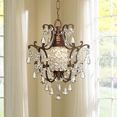Mini Chandeliers - Luxe Looks for the Bedroom, Bathrooms, Closet ...