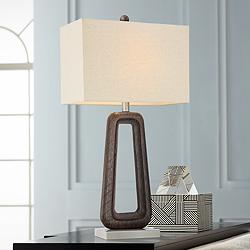 Raina Brown Openwork Table Lamp