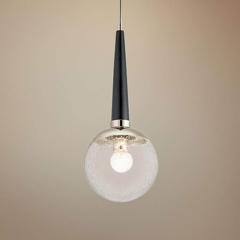 "Kichler Marilyn 7 3/4"" Wide Polished Nickel Mini Pendant"
