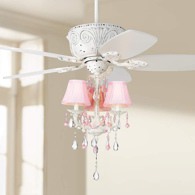 "44"" Casa Deville™ Pretty in Pink LED Ceiling"