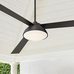 "60"" Kinetic™ Rubbed Bronze LED Ceiling Fan"