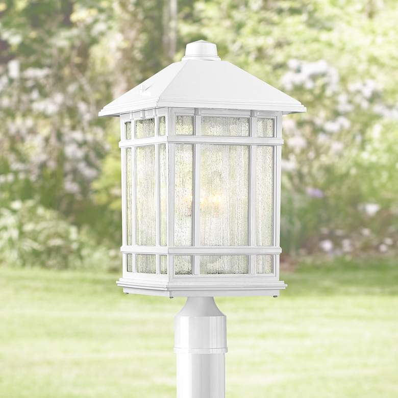 "J du J Sierra Craftsman 18""H White Outdoor"