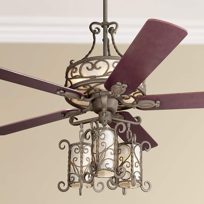 "60"" John Timberland® Seville Light Kit Ceiling Fan"