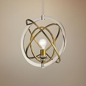 Gold Chrome Lighting Fixtures Lamps